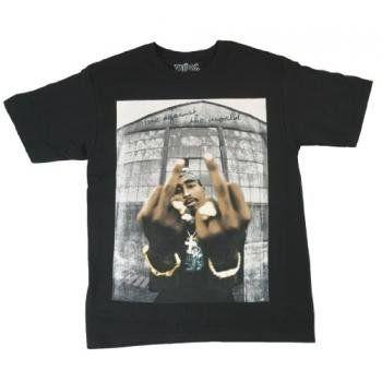 Concepteur Sympa T-Shirt Unisexe Tupac Shakur Smoking Dr/ôle Cadeau