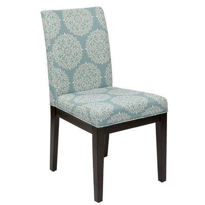 Office Star Ave Six Dakota Side Chair In Blue U0026 Reviews   Wayfair