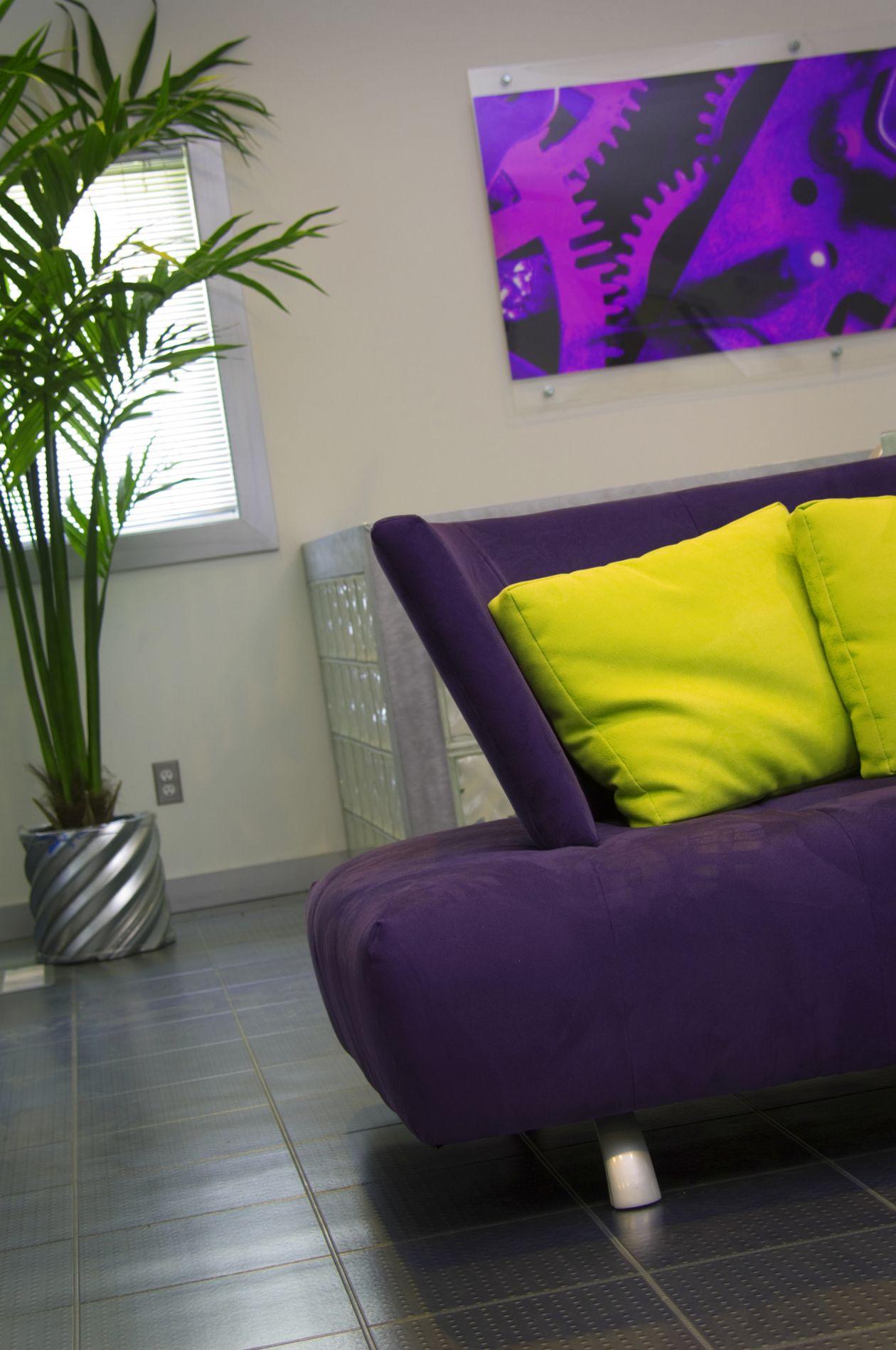 Morado y verde ácido | Inspiration for my home | Pinterest | Verde ...