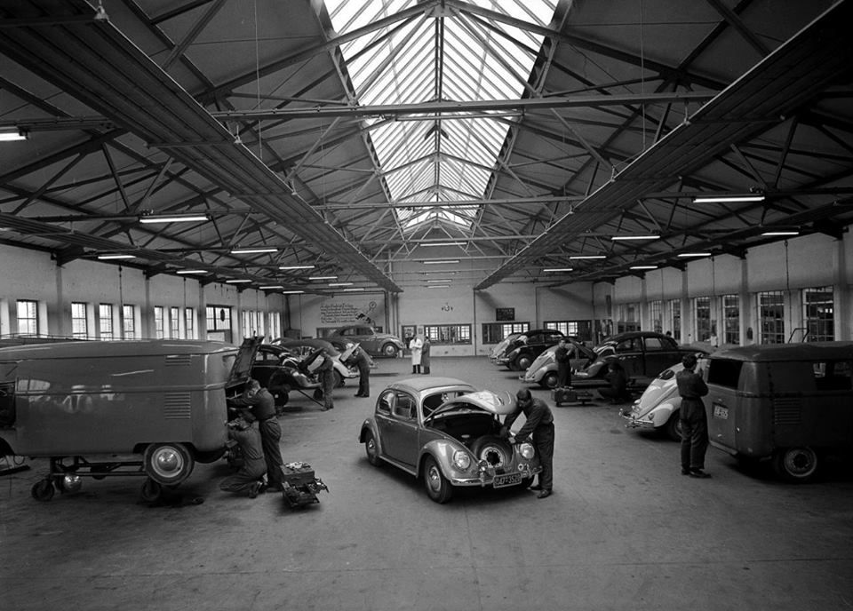 vw vintage garage vw history pinterest vw k fer und. Black Bedroom Furniture Sets. Home Design Ideas