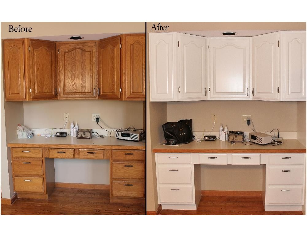 Kitchen Cabinet Reface Before And After Google Search Painting Kitchen Cabinets White Kitchen Cabinets Before And After Oak Bathroom Cabinets