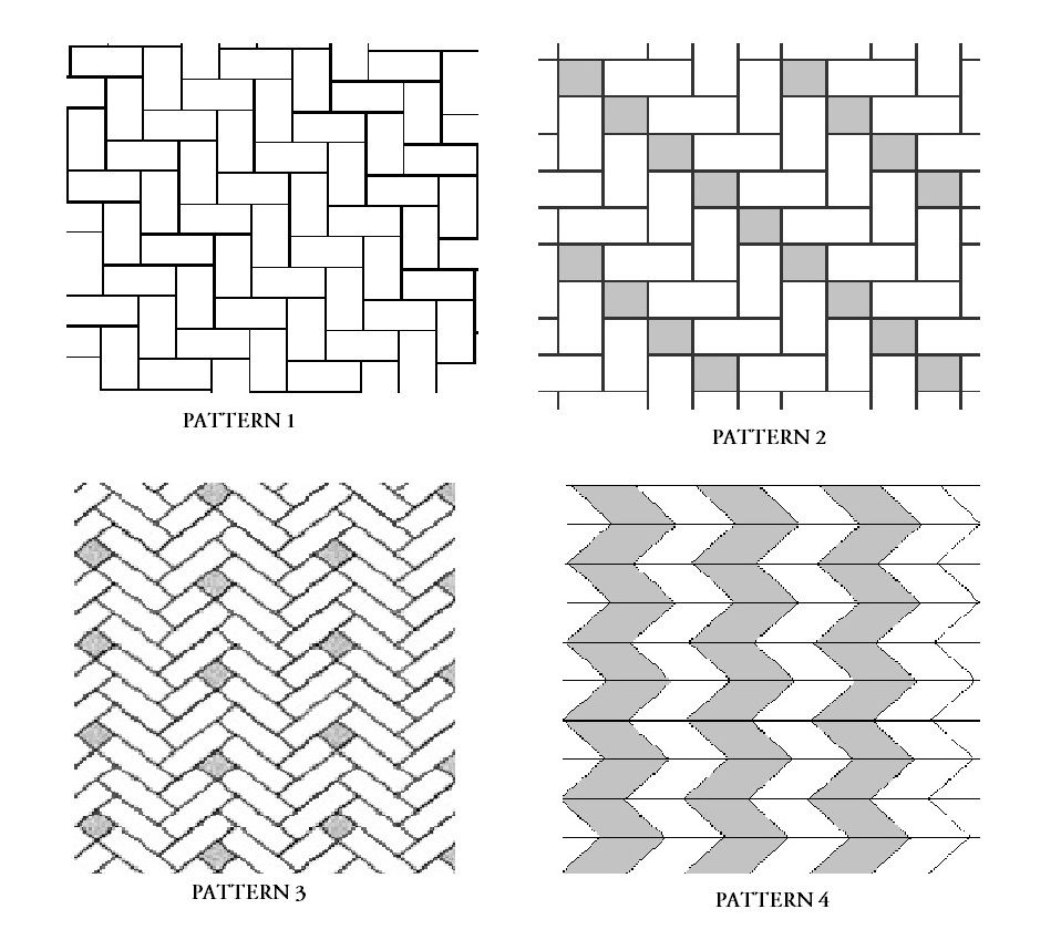 Tile Installation Patterns