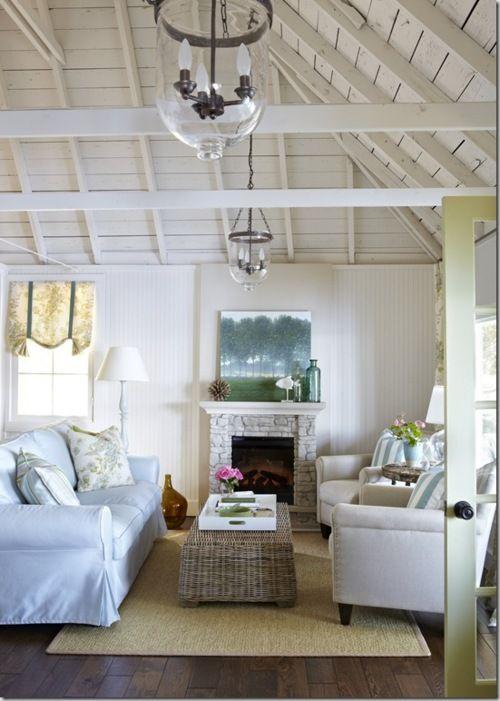 33 Cheerful Summer Living Room Décor Ideas: Design By Samantha Pynn And Joel Bray For HGTV's Summer