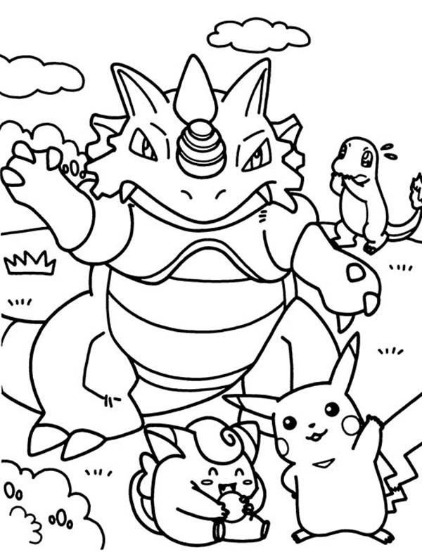 Pokemon Having Fun Together Coloring Pages Bulk Color In 2020 Pokemon Coloring Pages Coloring Books Coloring Pages