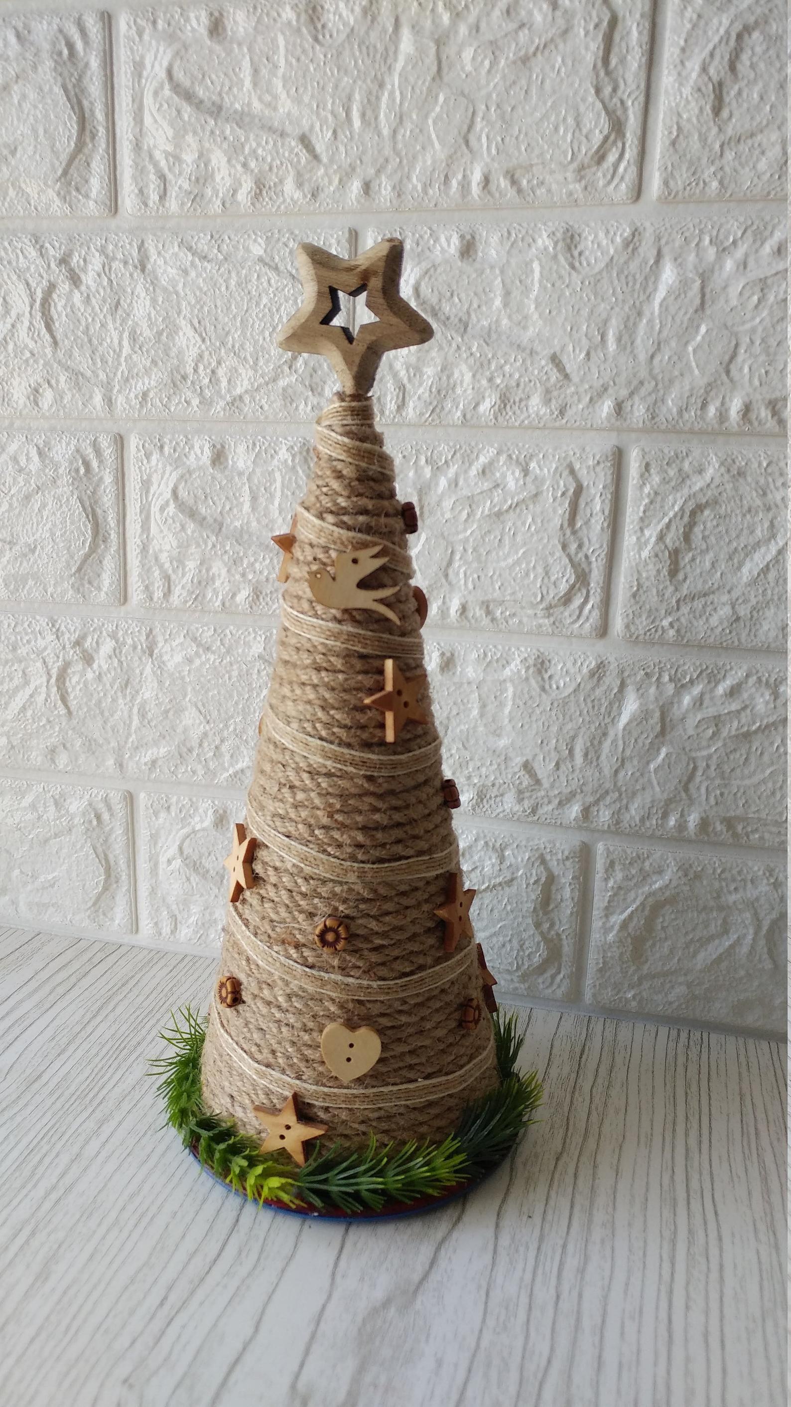 Rustic Christmas Decor, Christmas Tree Decor, Christmas