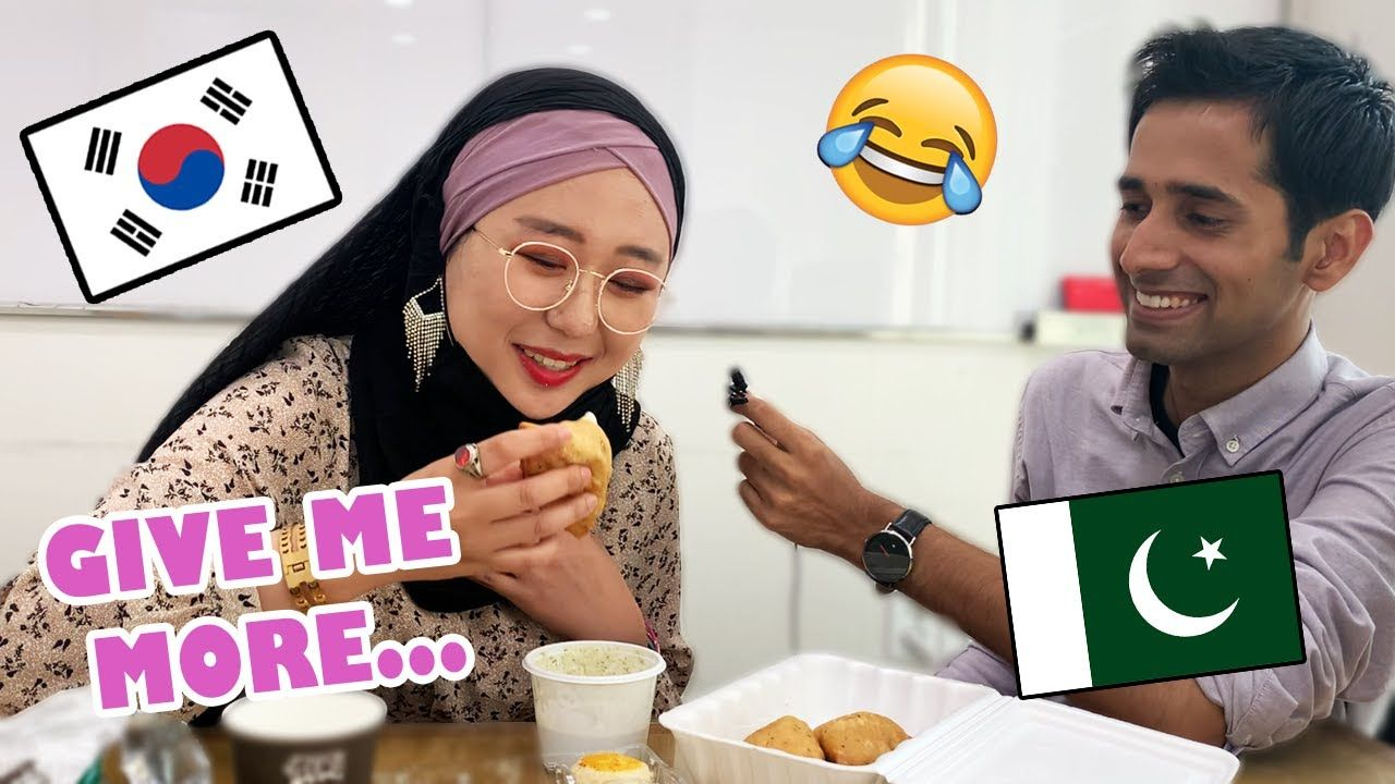 🇰🇷 Korean Girl Tries Pakistani Food For The First Time | Zahra Queen 🧕