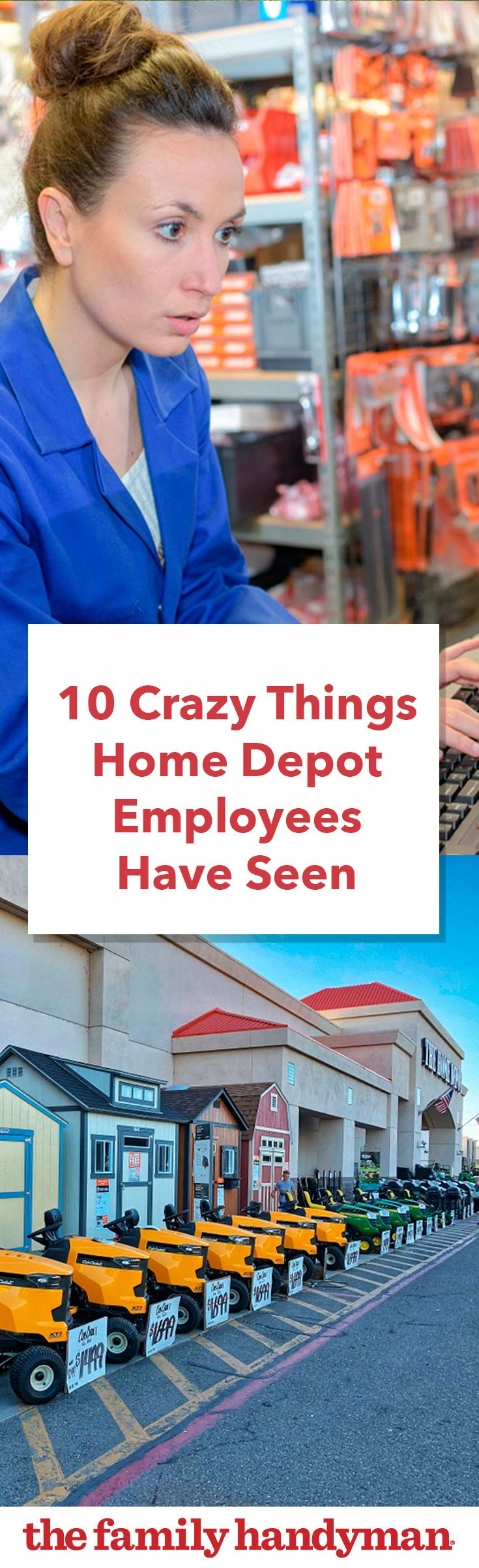 13 Crazy Things Home Depot Employees Have Seen Home