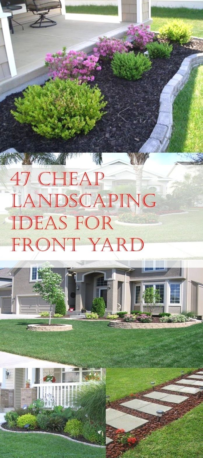 Design Your Own Front Yard Cheap Landscaping Ideas For Front