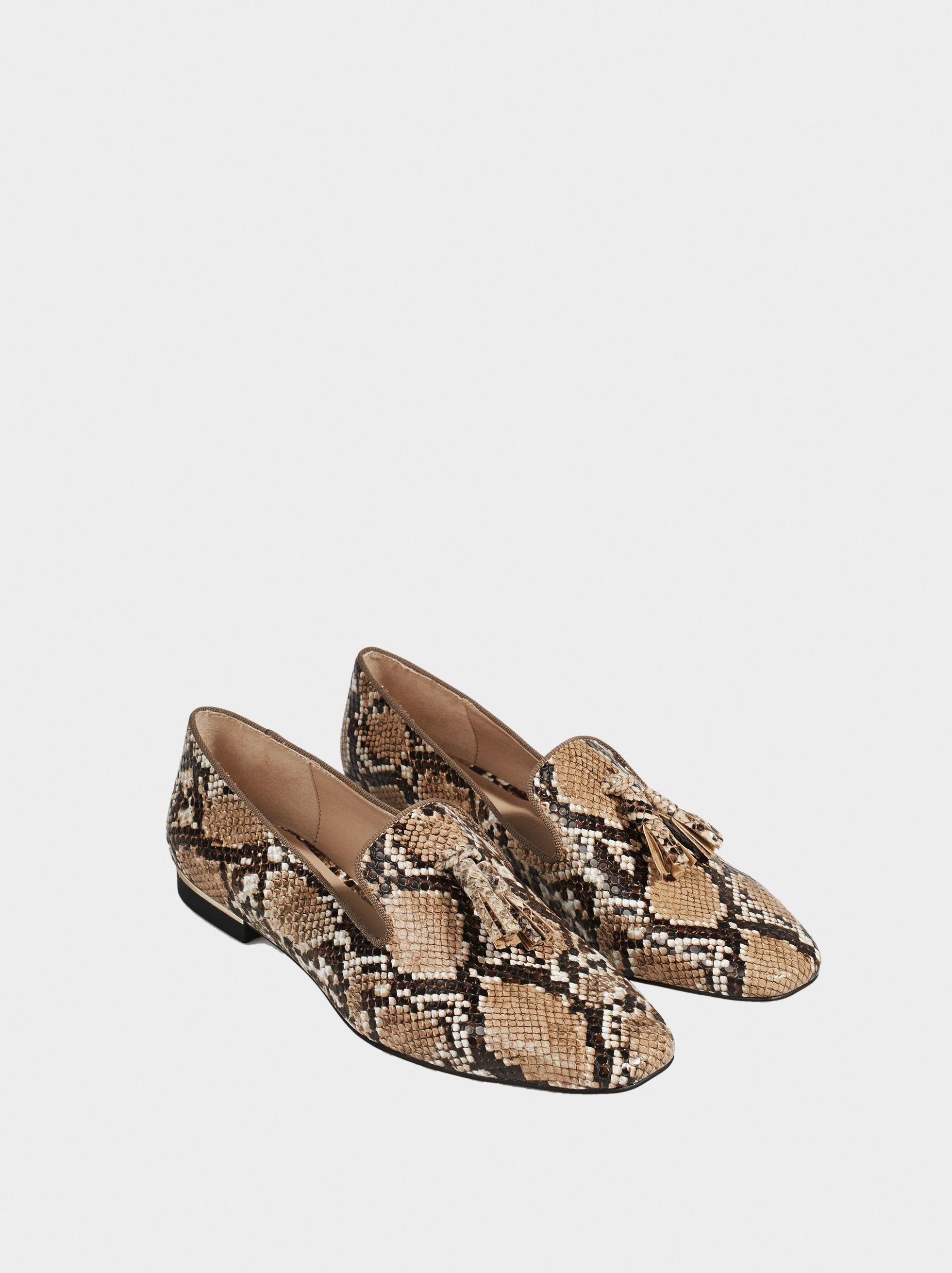 6ec2828e1 Sapatos Snake Print - Sapatos Rasos - parfois.com | outfits⚡ in ...