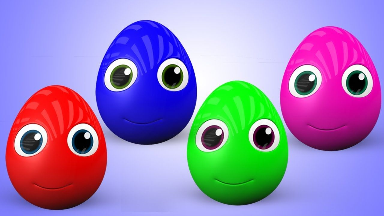 Surprise Eggs Colors Songs - Colors for Children with Spuds Learning ...