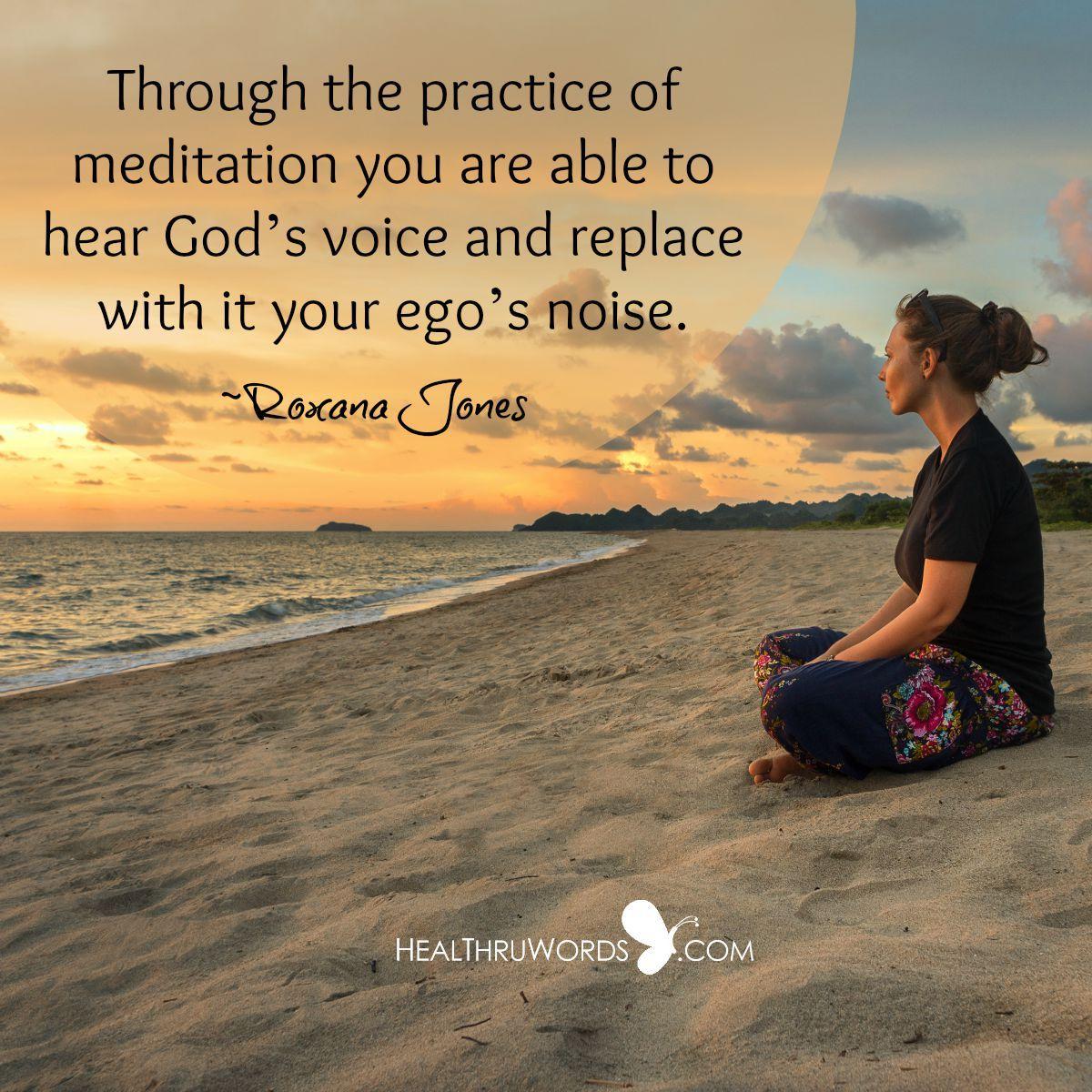 """Divine Meditation"" Through the practice of meditation you ..."