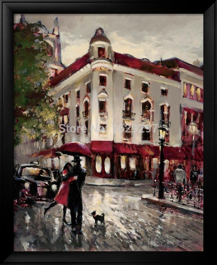 Welcome Embrace oil painting of Brent Heighton High quality canvas ...