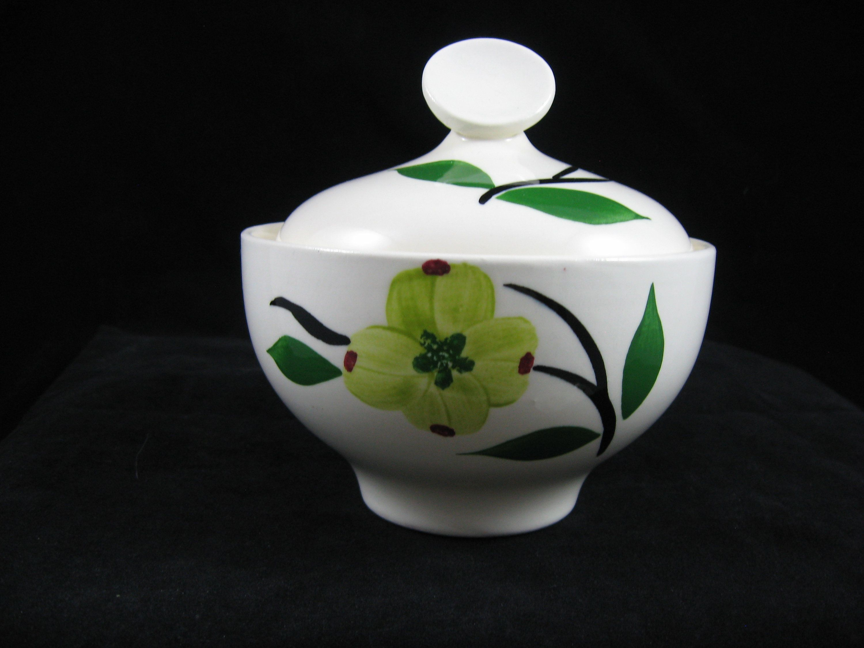 Small Oval Dogwood Bowl 1