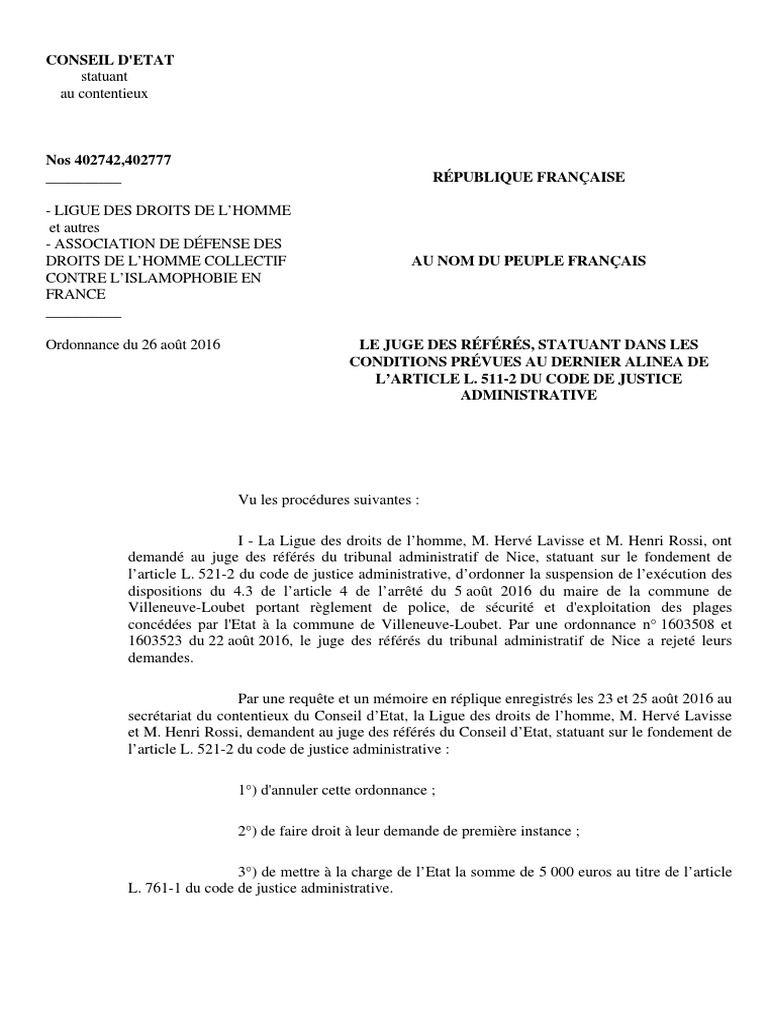 I M Reading Le Conseil D X27 Etat Suspend L X27 Arrete De Reading