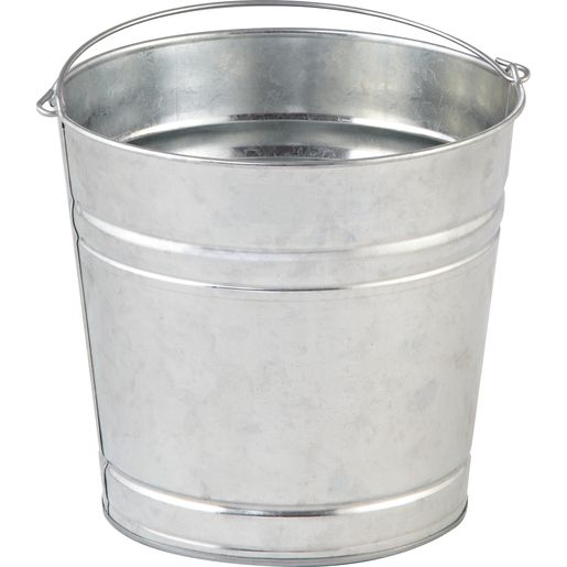 Behrens 12 Quart Galvanized Steel Pail Buckets Pails Garbage Cans Bags And Galvanized Steel Pail Galvanized