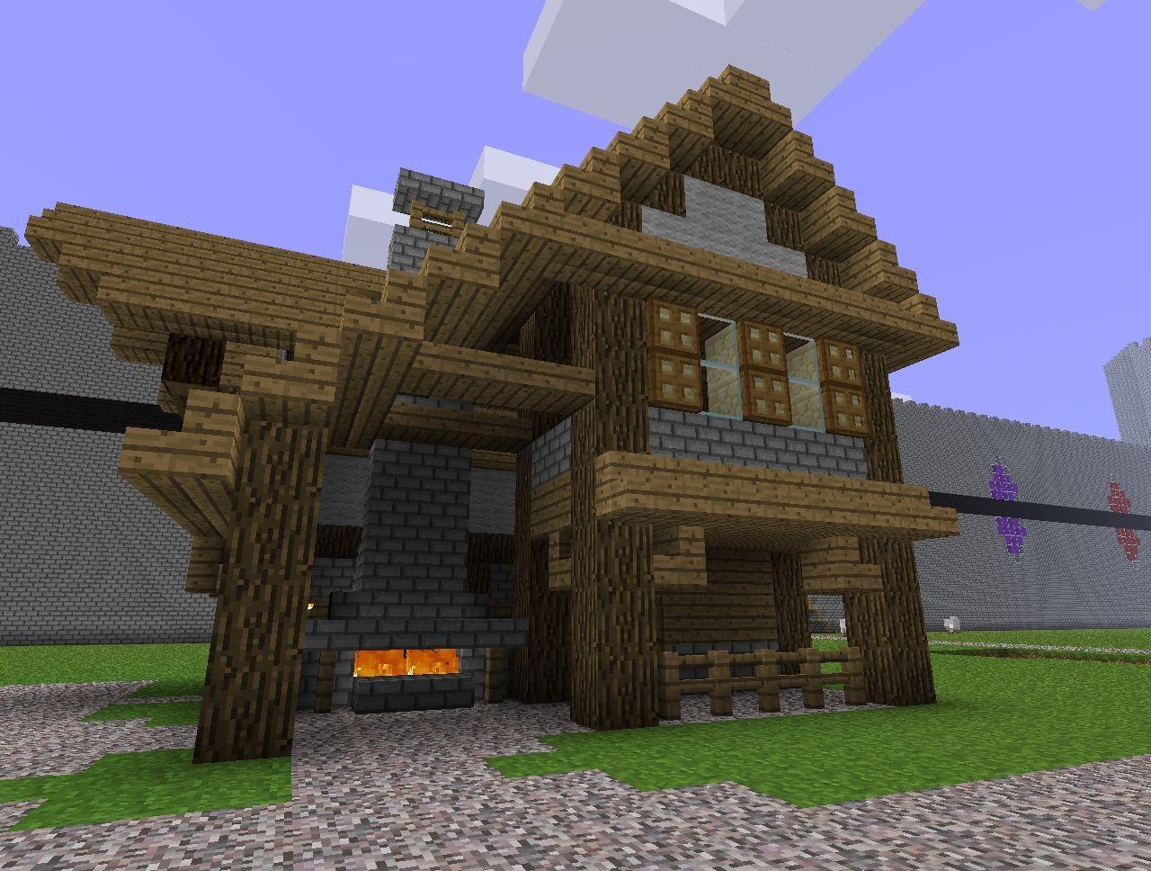 Small Medieval Blacksmith Minecraft Map Minecraft Medieval Minecraft Cave House Minecraft