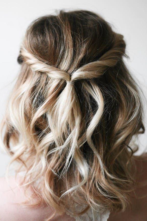 5 Hairstyles That Require Zero Curling Iron Skills Via Purewow Easy Hairstyles Medium Hair Styles Short Hair Styles