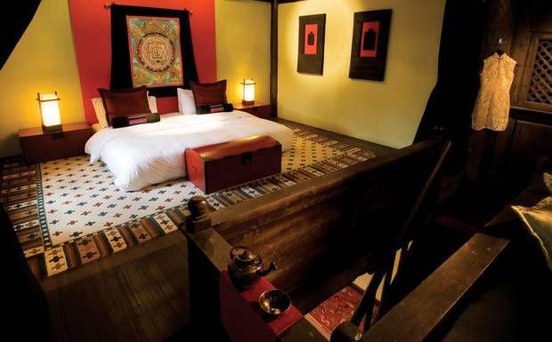 Banyan Tree Ringha Interior Design Room Tibet