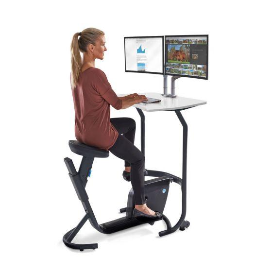 Unity Pedal Desk In 2020 Desk Work Station Desk Bike Office