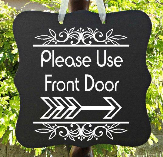 Front Door Sign, Home Decor, Welcome Sign, Door Hanger ...