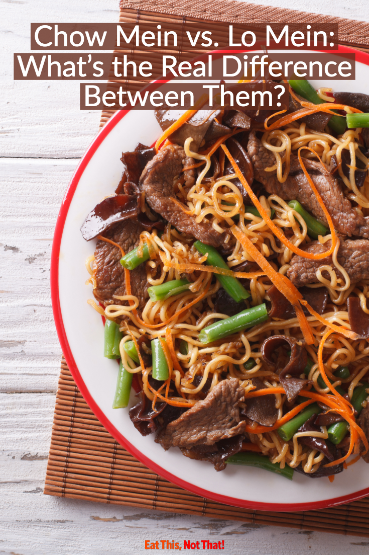 Chow Mein Vs Lo Mein What S The Real Difference Eat This Not That Chow Mein Food Hacks Eat