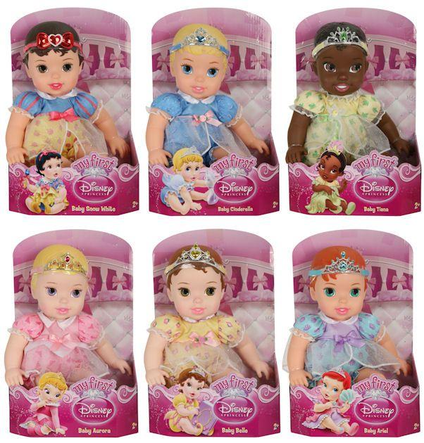 Disney Enchanted Nursery Cinderella Baby Doll In Blue: Disney Prince & Baby Princess Dolls: Perfect Fantasyland