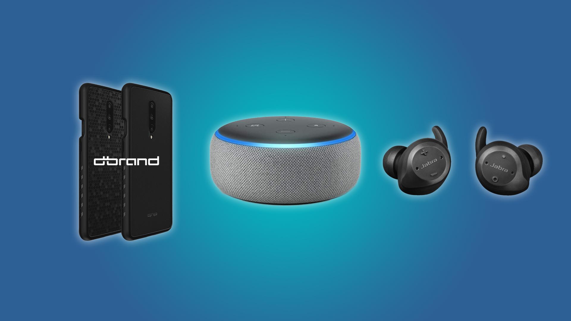 Daily Deals A 20 Echo Dot, a 100 Pair of Jabra Wireless