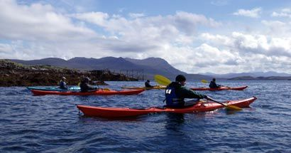 Sea Kayaking - The Summer Isles