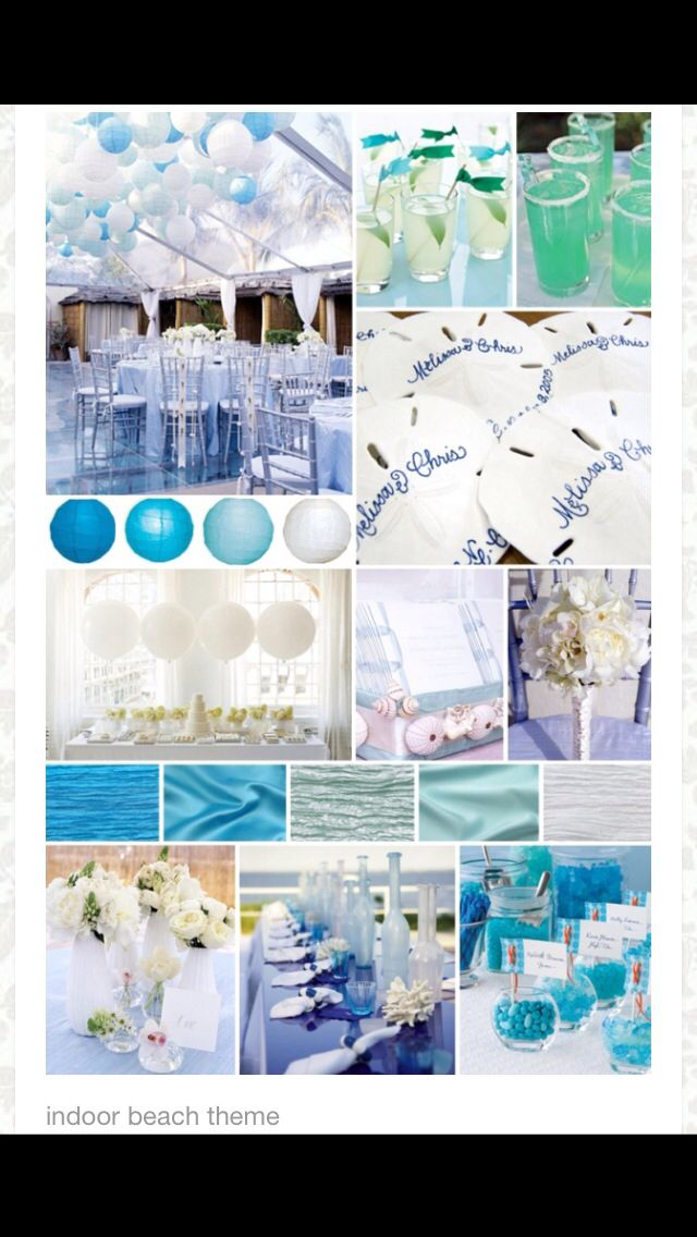 Beach Themed Wedding Reception Ideas
