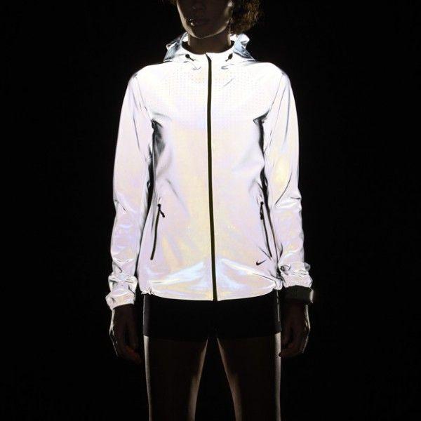 Femmes Nike Course Veste Réfléchissante