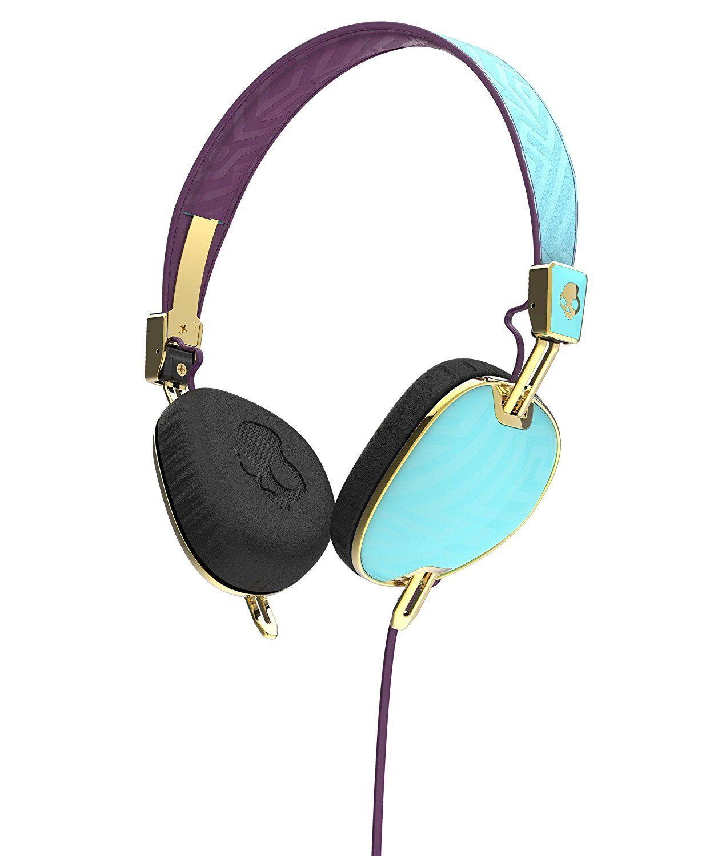 Amazon.com  Skullcandy S5AVGM-396 Knockout Women s On-Ear Headphones with  Mic   Remote 088535919f