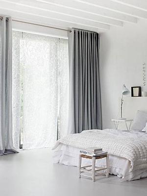4 tips voor een chique huis   365 Woonideeën: Lange gordijnen in ...