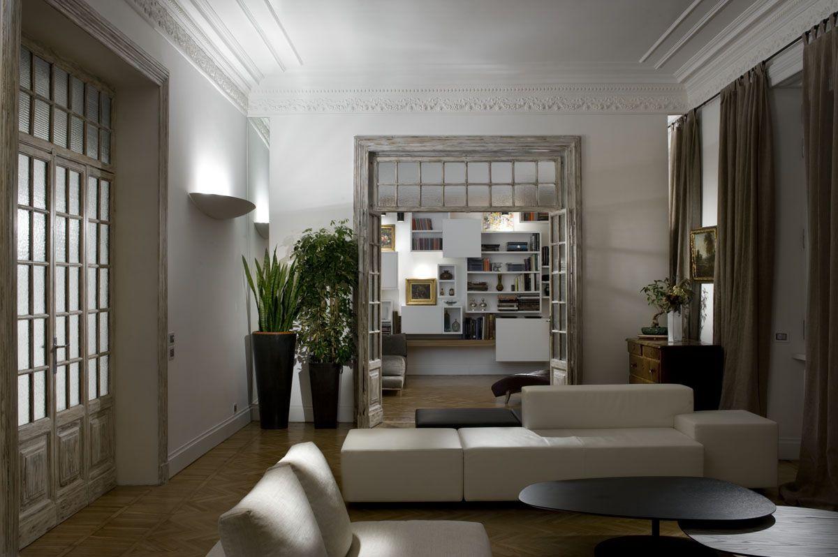 Abitazione privata nel centro storico di roma casa for Casa design roma