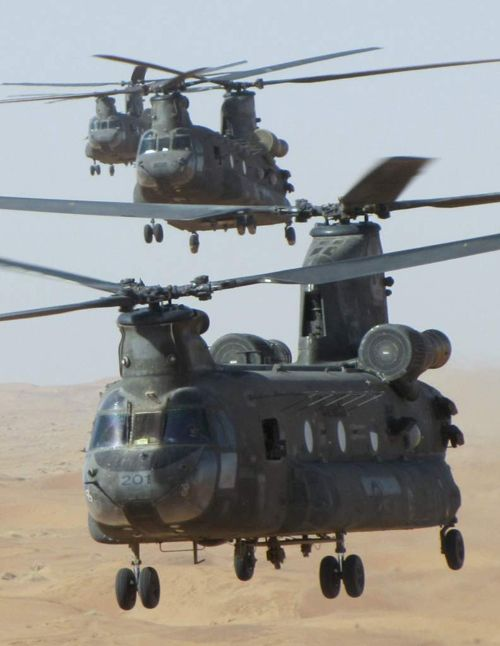 As part of Canada's Interim Helicopter Lift program, 6 CH