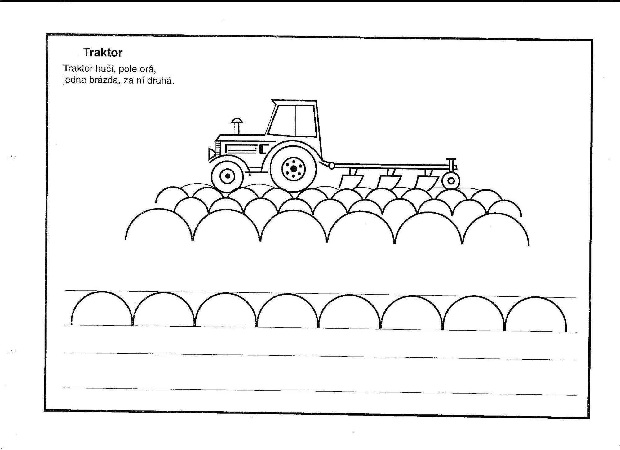Pencil control worksheet for kids 187 tracing line worksheet for kids - Worksheets Pracovn List Traktor Hledat Googlem