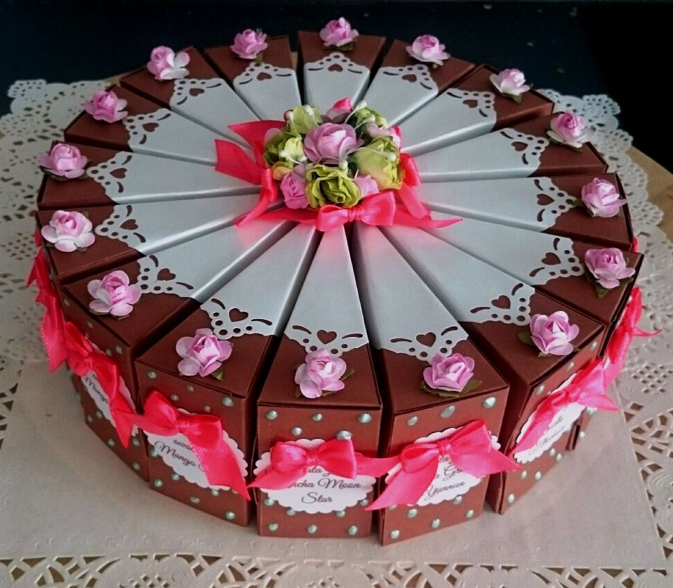 Tea cake, paper cake | Boxes | Pinterest ...