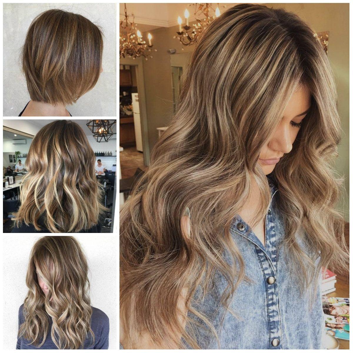 Highlights Und Lowlights Für Kurze Braune Haare Frisuren Modelle