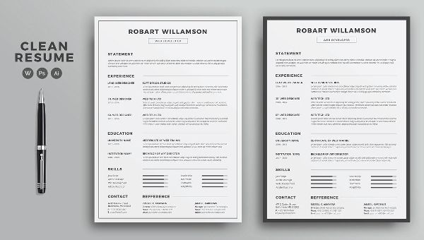 printable free resume templates 2019 in 2020