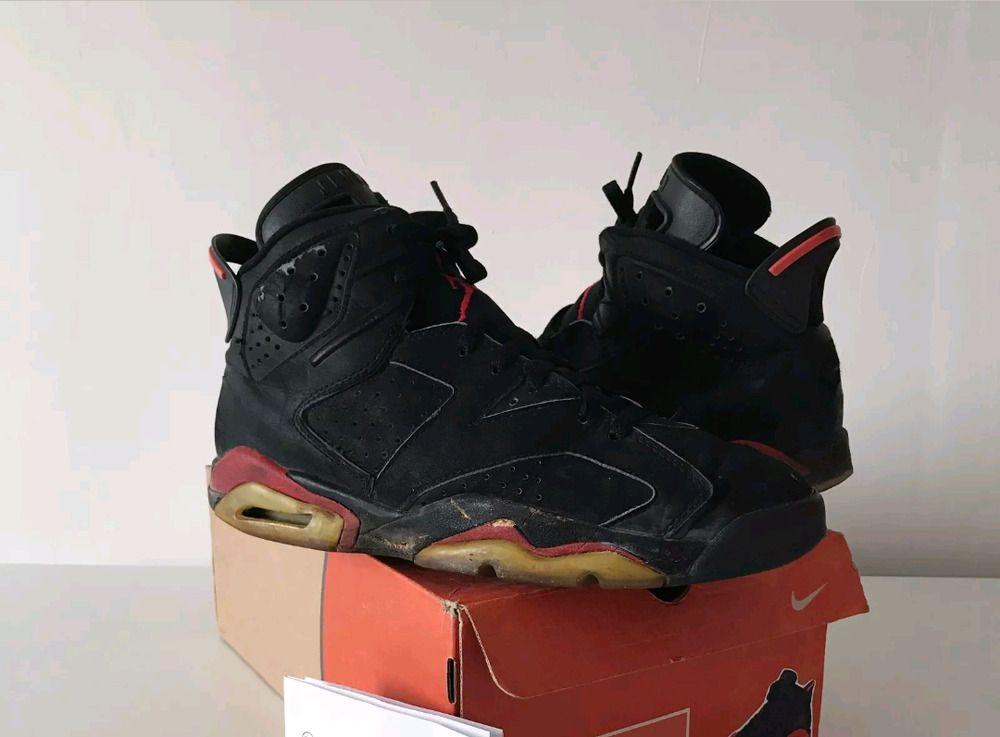 0e6378e0fee eBay  Sponsored 1991 OG Nike Air Jordan 6 Black Infrared Vintage US 8.5   9  100% Genuine