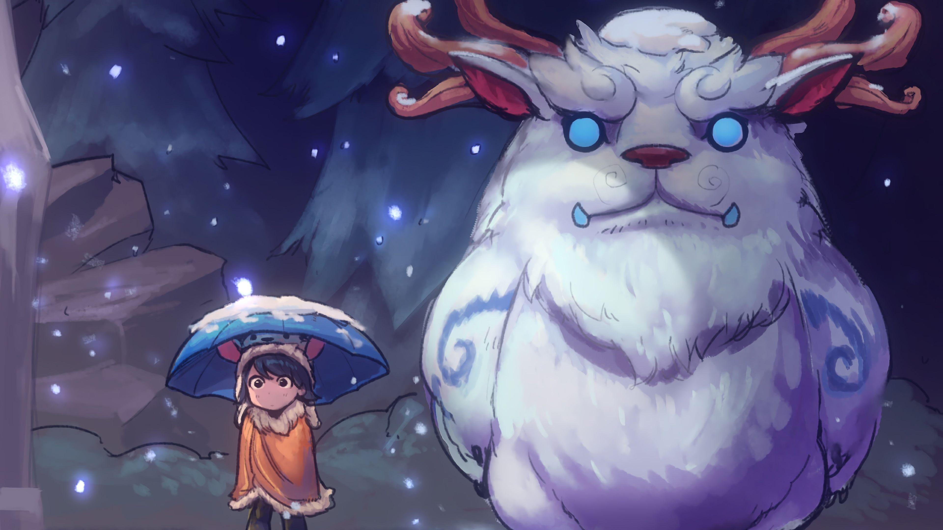 Nunu Rework Art League Of Legends Lol Video Game 3840x2160