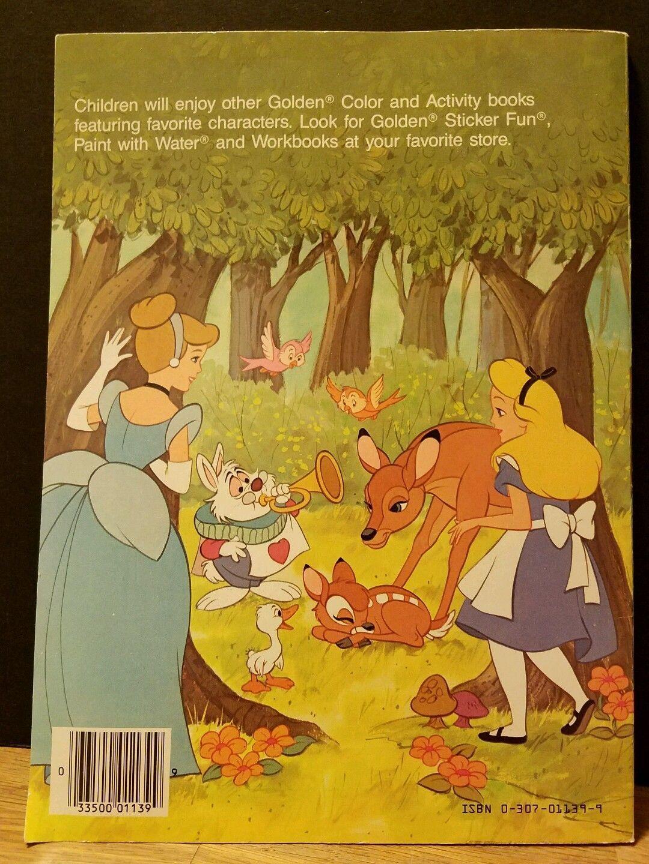 Walt Disneys Fairy Tales Coloring Book Unused 1985 In Collectibles Disneyana Contemporary 1968