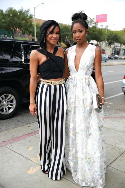 cassie and apryl jones at the ciroc summer brunch
