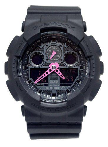 b27e26ea237f G-Shock GA-100 Neon Highlights Trending Series Men s Luxury Watch - Black  Pink   One Size  blackpink  ga100  gshock  highlights  Luxury  Men s  neon   Series ...