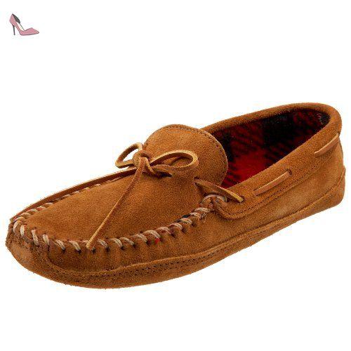 Chaussures Minnetonka marron homme JzL9DwOq