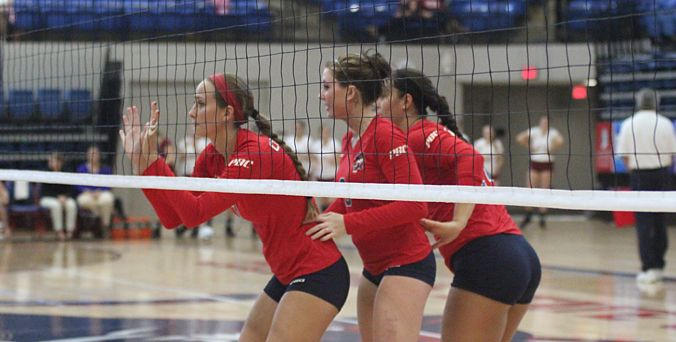 Columbus State Volleyball Sweeps Pfeiffer Columbus State Columbus State Women Volleyball Columbus State University
