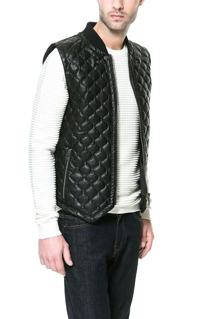 QUILTED WAISTCOAT - Collection - Man - New collection | ZARA United States