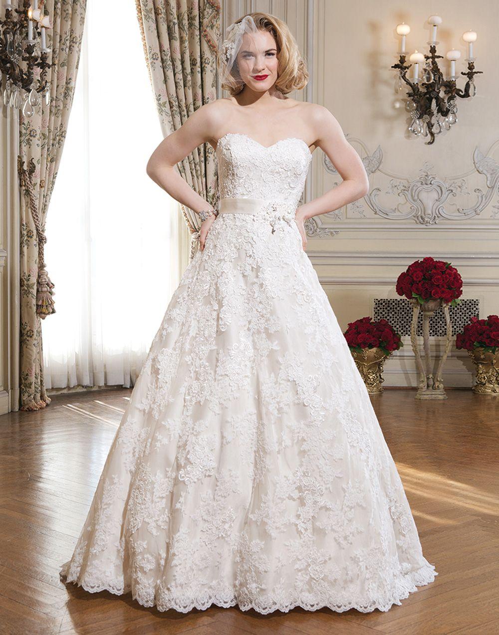 Justin alexander wedding dresses style venice lace full aline