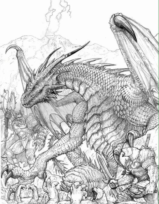 Adult Coloring Book Dragon Best Of 558 Best Images About ...