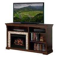 (Limited Supply) Click Image Above: Dimplex Edgewood Electric Fireplace Media Console