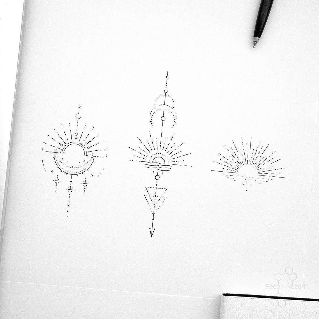 Photo of Tattoo Artist Fedor Nozdrin auf Instagram: Verfügbar Designs. . . . . #geometrictattoo
